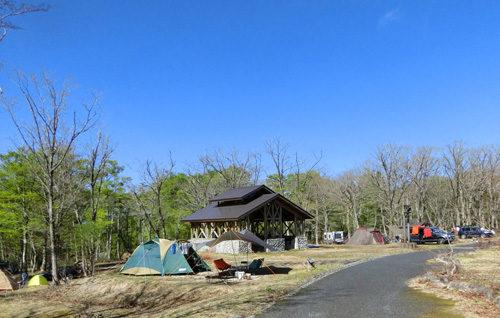 休暇村鏡ヶ成キャンプ場