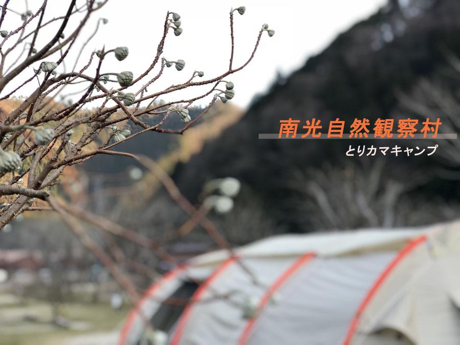 カマボコテント2で冬キャンプ①【南光自然観察村】