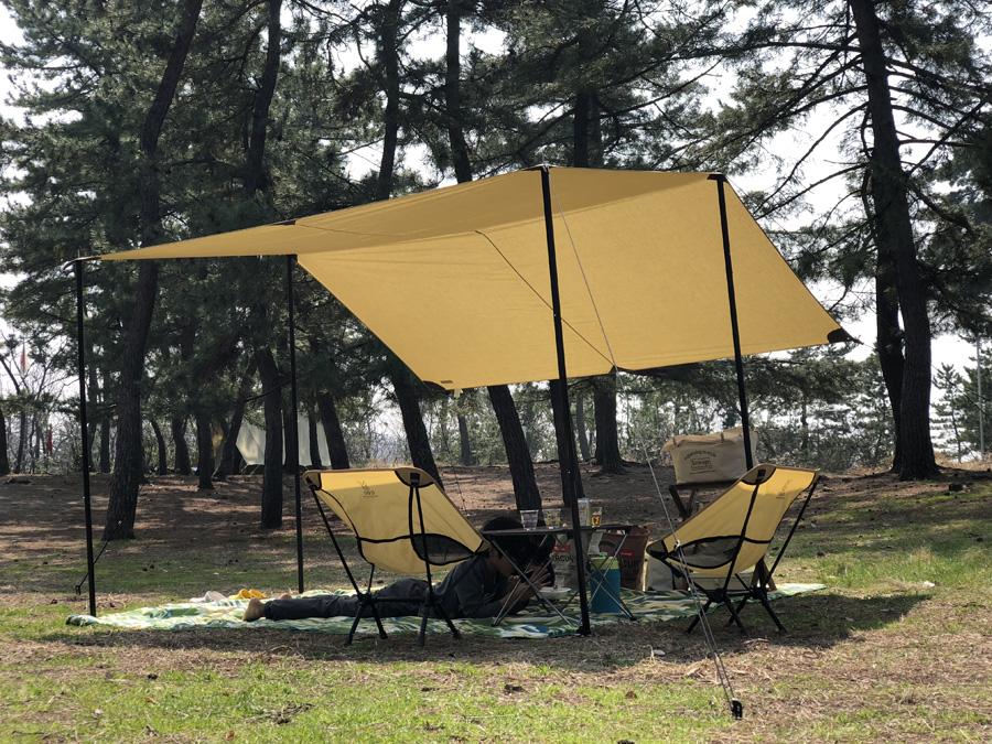 柳茶屋キャンプ場でタトンカランチ
