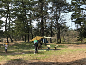 柳茶屋キャンプ場風景